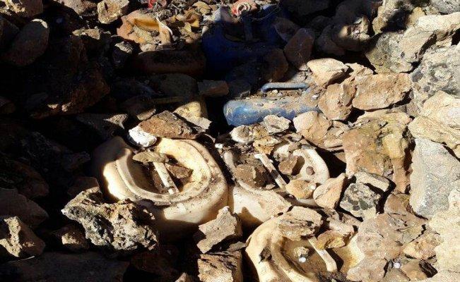 Mardin'de 1 ton patlayıcı ele geçirildi