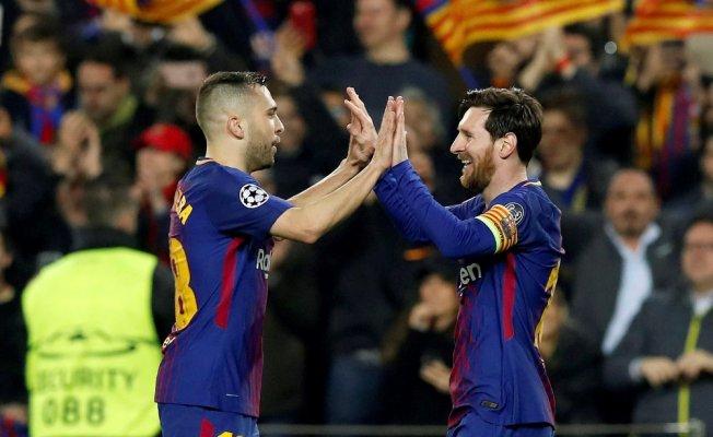 Messi şov yaptı, Barcelona turladı