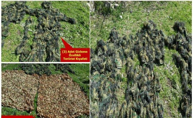 PKK'ya bir darbe daha: 26 hedef kullanılamaz hale getirildi