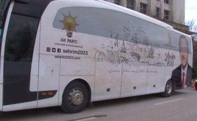 """""""Şehrim 2023"""" otobüsleri yola çıkıyor"""