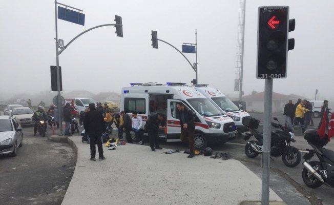 Silivri'de sis kazaları beraberinde getirdi: 1 ölü, 3 yaralı