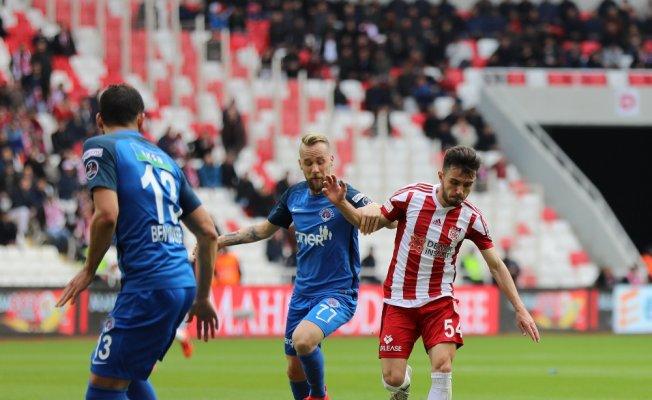Sivas'ta 4 golü beraberlik