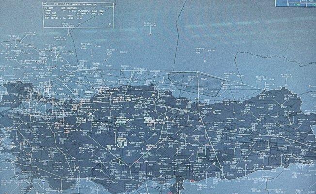 Türk hava sahasında transit trafiği artıyor