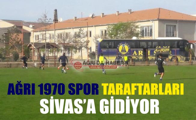 Ağrı 1970 Spor Taraftarları Sivas'a Gidiyor
