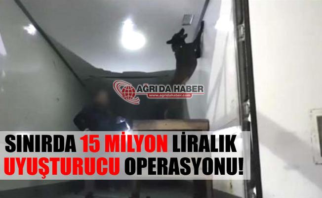 Gürbulak Sınır Kapısı'nda Dev Uyuşturucu Operasyonu