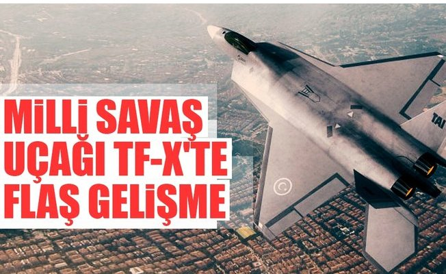 Milli Savaş Uçağımız TF-X