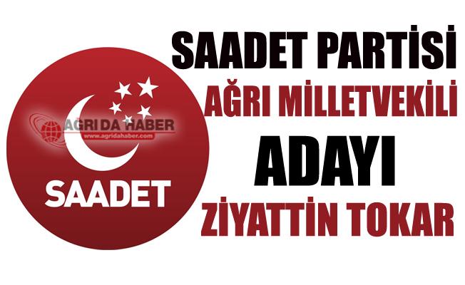 2018 Saadet Partisi Ağrı Milletvekili Adayı