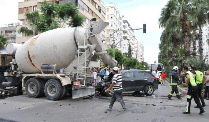 Antalya'da Korkunç Kaza'da Mucize Kurtuluş