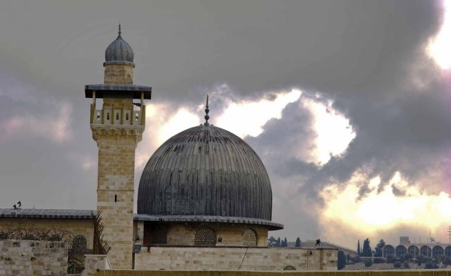 Mescid-i Aksa'da Ramazanın İlk Namazı Kılındı