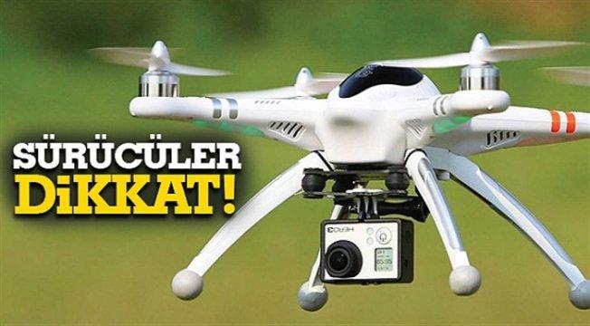 Ağrı'da Drone ile Trafik Denetimi yapılacak