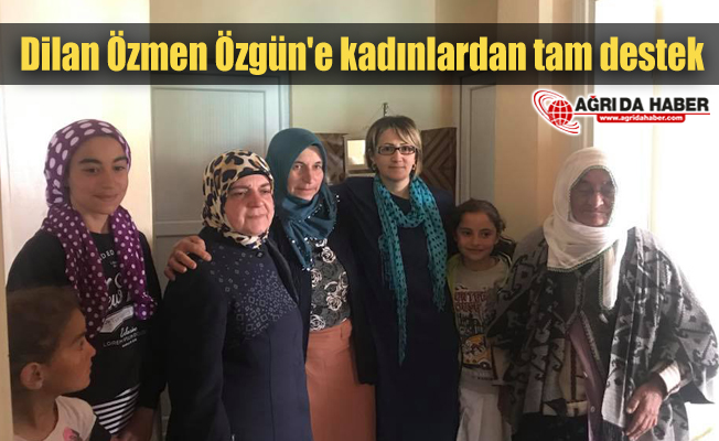 Dilan Özmen Özgün'e kadınlardan tam destek