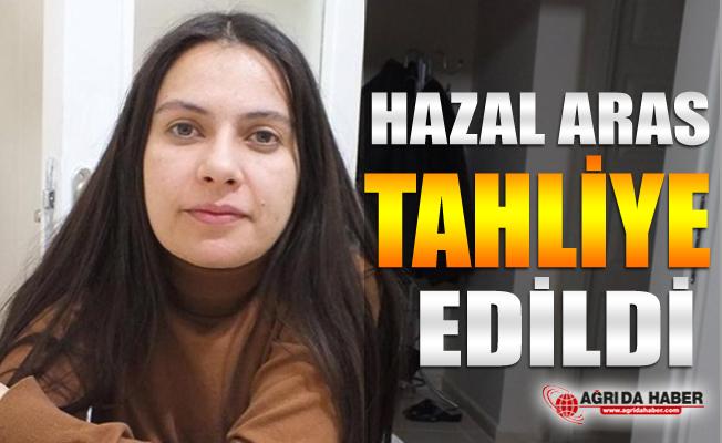 Diyadin Eski Belediye Başkanı Hazal Aras Tahliye edildi