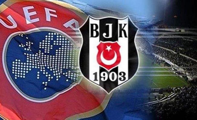UEFA Beşiktaş'a Ceza Verdi