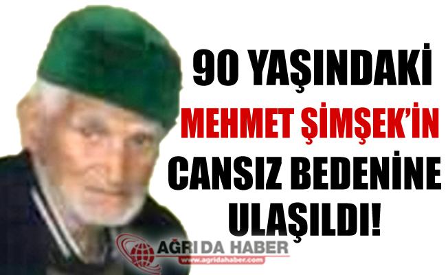 90 Yaşındaki Mehmet Şimşek Ölü Bulundu!