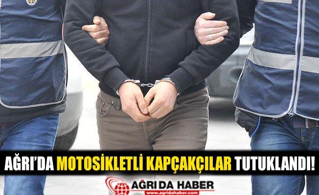 Ağrı'da Motosikletli Kapkaççılar Tutuklandı!
