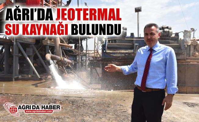Ağrı'da Jeotermal Su Kaynağı Bulundu!