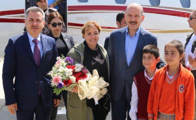 İçişleri Bakanı Süleyman Soylu Ağrı'da!