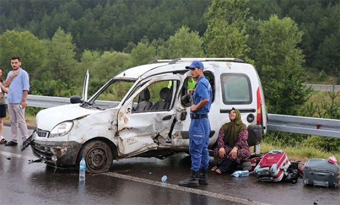 Kütahya'da Kaza 5 Yaralı Var!