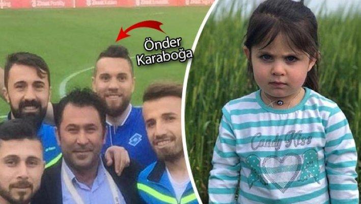 Minik Leyla Fuutbolcu Önder Karaboğa'nın Yeğeni Çıktı
