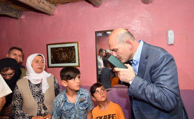 Süleyman Soylu Öldürülen Bengi'nin Evini Ziyaret Etti