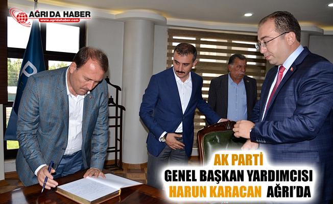 Ak Parti Genel Başkan Yardımcısı Harun Karacan Ağrı Patnos'ta
