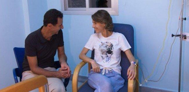 Beşşar Esad'ın Karısı Esma Esad Hastaneye Kaldırıldı