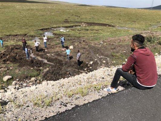 Çocukların Bulduğu Su Kaynağı Köylüleri Sevindirdi