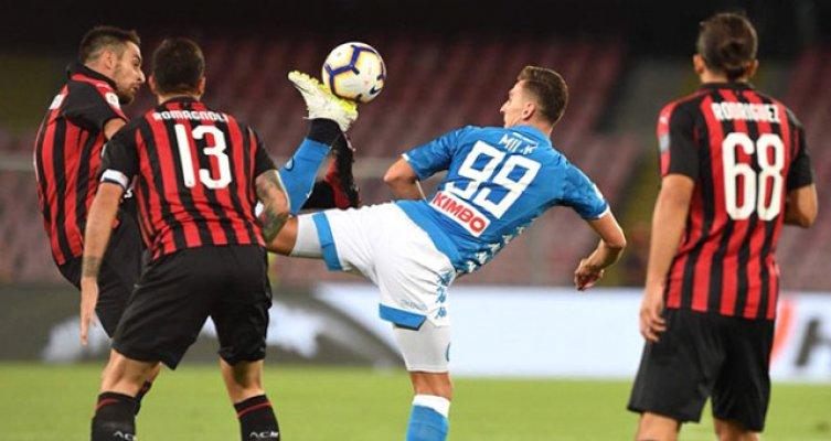 Napoli Geriye Düştüğü Maçtan 3-2'lik Galibiyet İle Ayrıldı