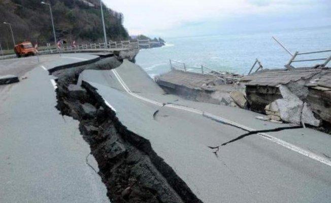 Ordu'da Sel Felaketi... Bütün Fındık Hasadı Denize Aktı