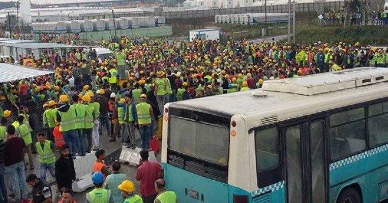 3. Havalimanı'nda Olaylar Büyüyor! Havalimanı İşçileri Eylem Yapıyor!