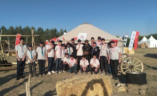 Ağrı Ağçed İzcileri 1071 Malazgirt Milli Bilinç Kampını Tamamladı