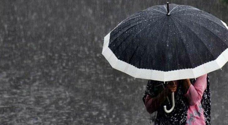 Doğu Anadolu Bölgesinden Ağrı Dahil 5 İlde Sağanak Yağış