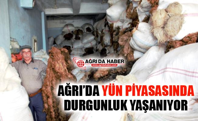 Hayvancılığın Önemli İllerinden Ağrı'da Yün Piyasasında Durgunluk Yaşanıyor