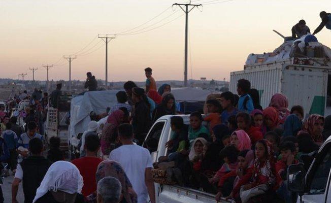 İdlib Halkı İdlib'ten Kaçmaya Başladı!