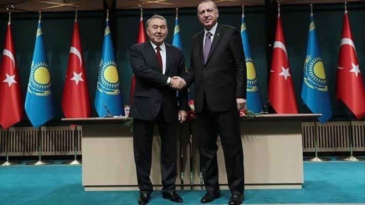 Kazakistan'la 5 Dev Anlaşma Yapıldı