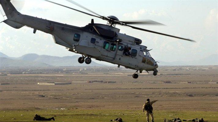 Taliban Afgan Ordusuna Ait Savaş Helikopterini Düşürdü