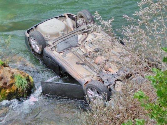 Tunceli'de Korkunç Kaza 1 Ölü 3 Yaralı