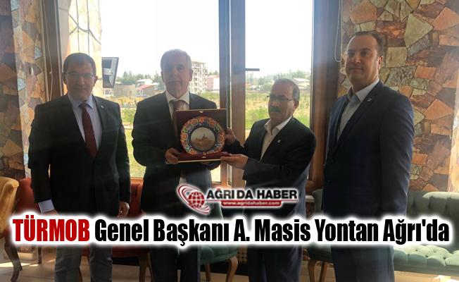 TÜRMOB Genel Başkanı A. Masis Yontan Ağrı'da ki muhasebeciler biraraya geldi
