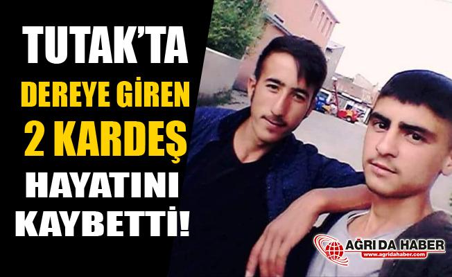 Tutak'ta Dereye Giren 2 Genç Kardeş Boğuldu!