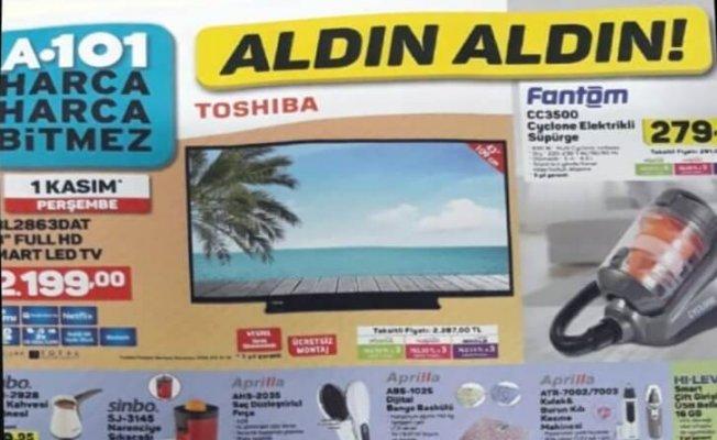 1 Kasım 2018 A101 Aktüel Ürünler Kataloğu Yayınlandı! (01.11.2018 A101 Aktüel)