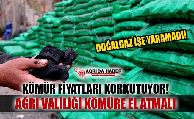 Ağrı'da Kömür fiyatları Halkı Korkutuyor!