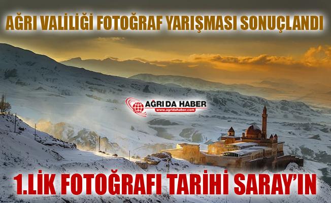 Ağrı Valiliği'nin Düzenlediği Fotoğraf Yarışması Sonuçlandı
