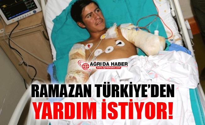 Ağrılı Ramazan Kolları İçin Türkiye'den Yardım İstedi