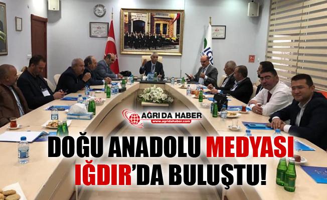 Doğu Anadolu Gazeteciler Başkanları Iğdır'da Buluştu