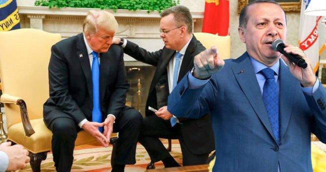"""Erdoğan """"İlişkiler Normale Dönecek"""" diyen Trump'a yanıt verdi"""