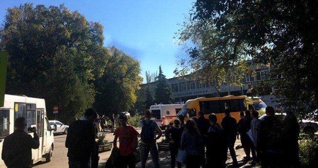 Son Dakika! Kırım'da Bir Okulda Patlama: 10 Ölü 50 Yaralı!