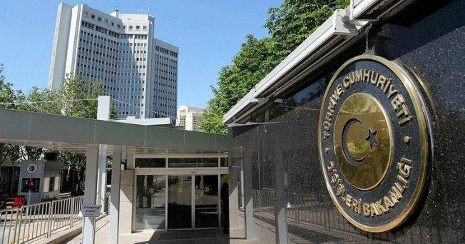 Türkiye Dışişleri Bakanlığı'ndan Yunanistan'a Kınama
