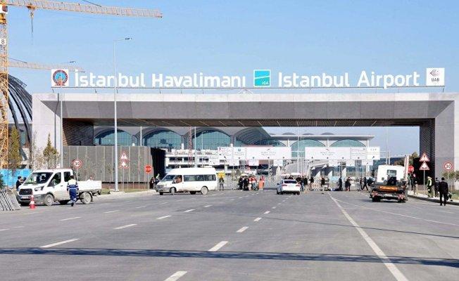 Yeni Havalimanı'nın Adı Belli Oldu! İstanbul Havalimanı Tabelası Asıldı!