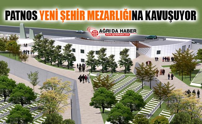 Ağrı Patnos Yeni Şehir Mezarlığına Kavuşuyor