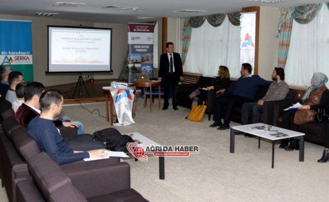 AİÇÜ'de Proje Döngüsü Yönetimi ve Proje Hazırlama Eğitimi Verildi
